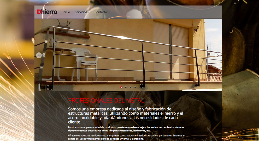 Proyecto web Dhierro